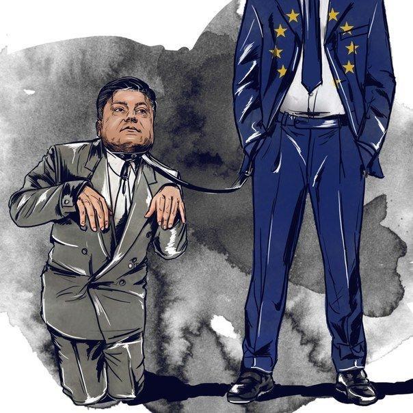 Франция и Германия «выкрутили руки» Порошенко и не дают ему повоевать всласть