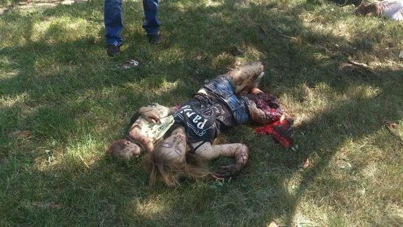 Консула США ткнули носом в фотографии убитых мирных жителей