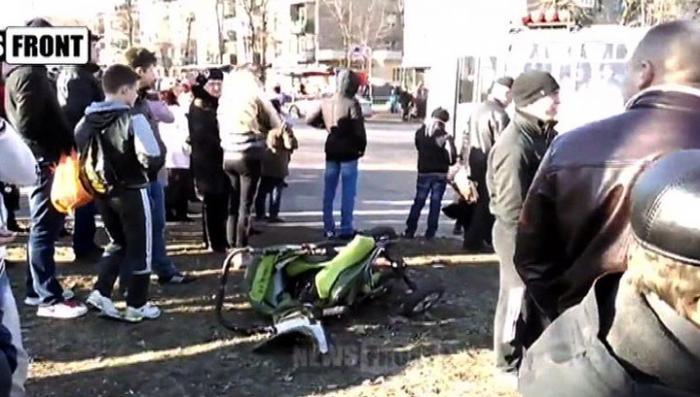Жители Константиновки требуют убрать карателей из города