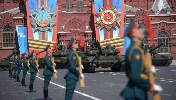 Парад Победы на Красной площади. Архивное фото
