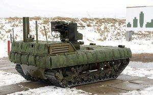 Не имеющий аналогов боевой роботокомплекс собрались испытать в России