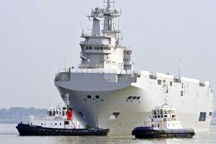 Франция отправила «Мистраль» вЮжно-Китайское море