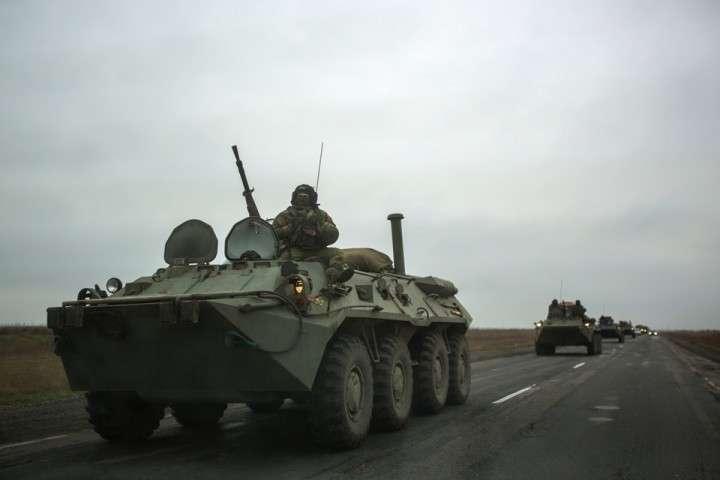 Минобороны Украины выводит из Краматорска 15 единиц бронетехники