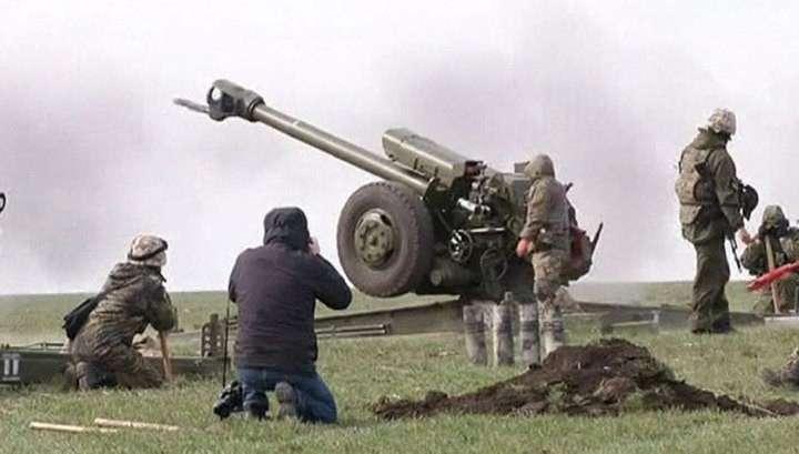 После скандала Reuters «передвинуло» украинскую артиллерию в разрешенную зону