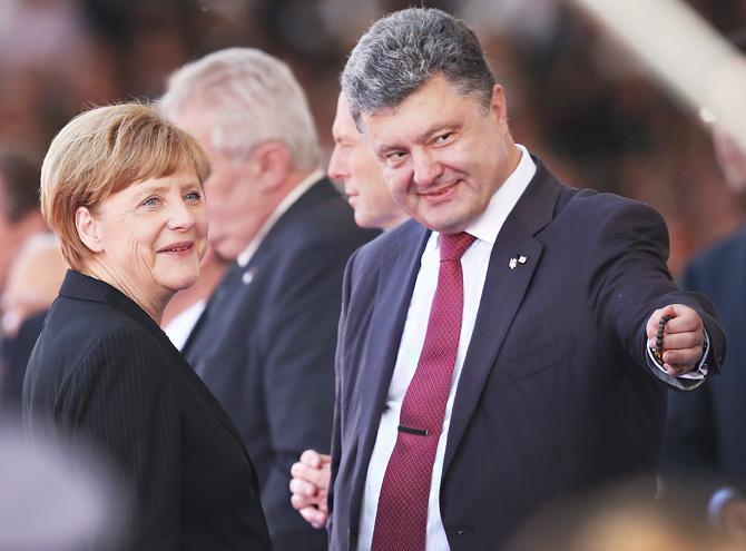 Куда смотрит Европа на Украине?