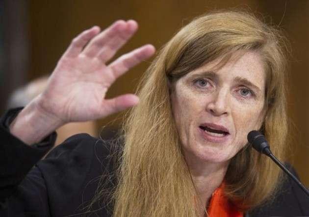 Агрессивное женское лицо дипломатии США