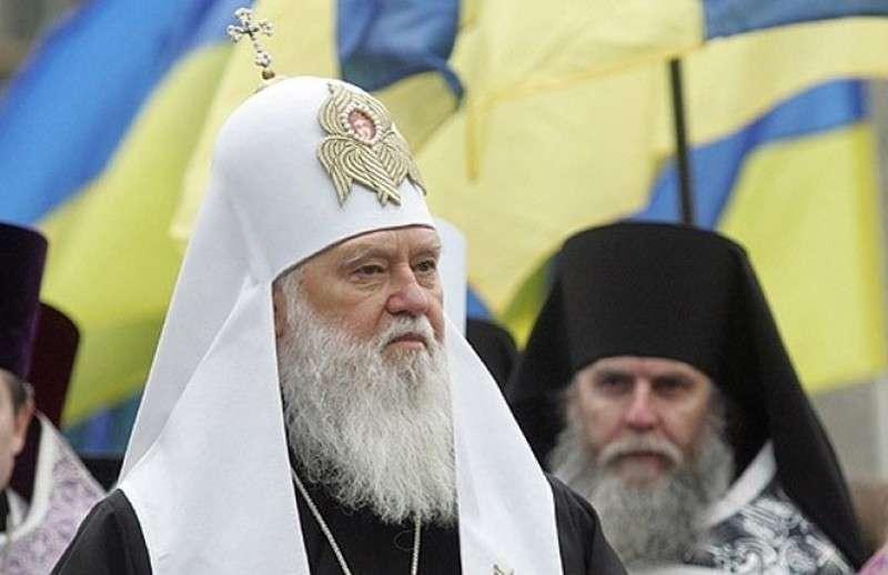 Укро-поп Филарет оправдал убийство населения Донбасса