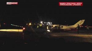 Пилот самолета, аварийно севшего в Домодедово, забыл выпустить шасси