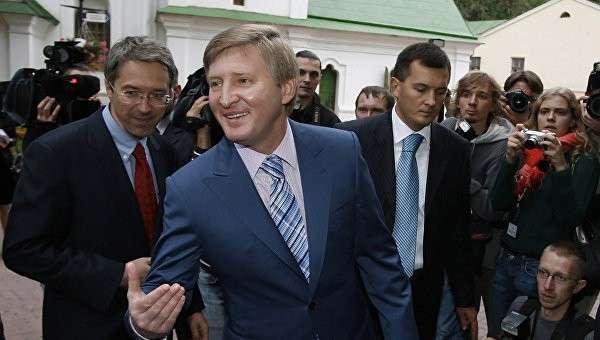 Главные жидо-воры Ахметов и Коломойский провели переговоры о судьбе Украины
