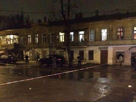 В Одессе взорвали волонтерский центр