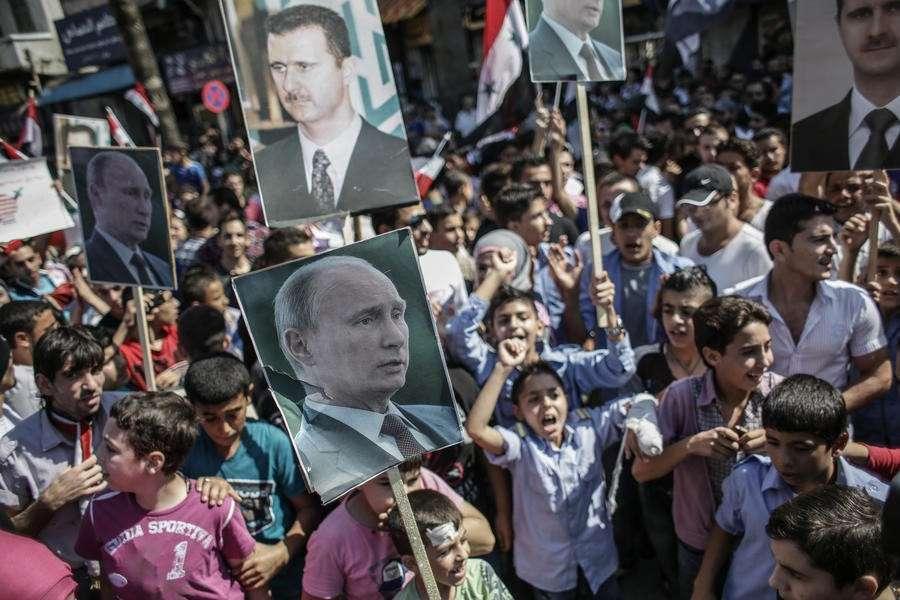 Владимир Путин и Башар Асад бросают вызов имперскому беззаконию США