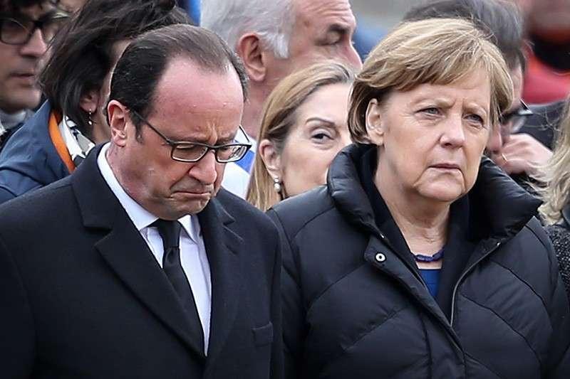 Франция и Германия поняли, что США сошли с ума
