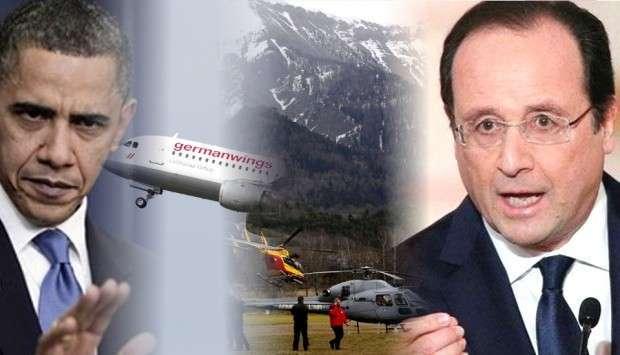 Президент Олланд обвинил США в катастрофах гражданских самолётов