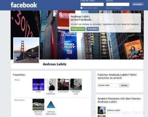 Andreas Lubitz facebook