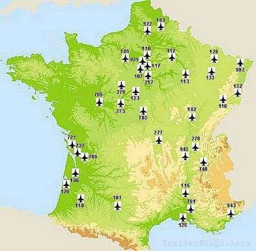 военные базы США во Франции 1