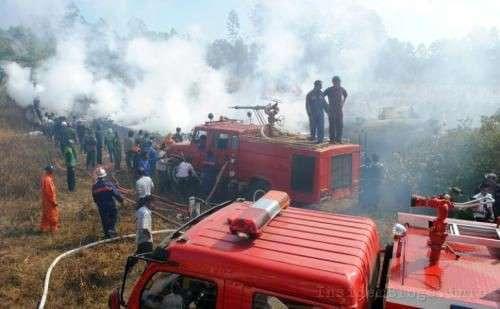 Авиакатастрофа в Бирме (Мьянма)