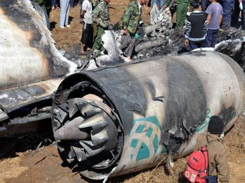 Мьянма авиакатастрофа. Двигатель