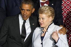 Литовцами руководит бывшая КГБ-шница лёгкого поведения