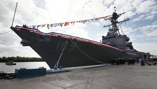 Американский эсминец Джейсон Данхэм. Архивное фото.