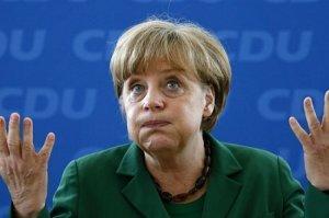 Меркель тупо тратит государственные деньги на Украину