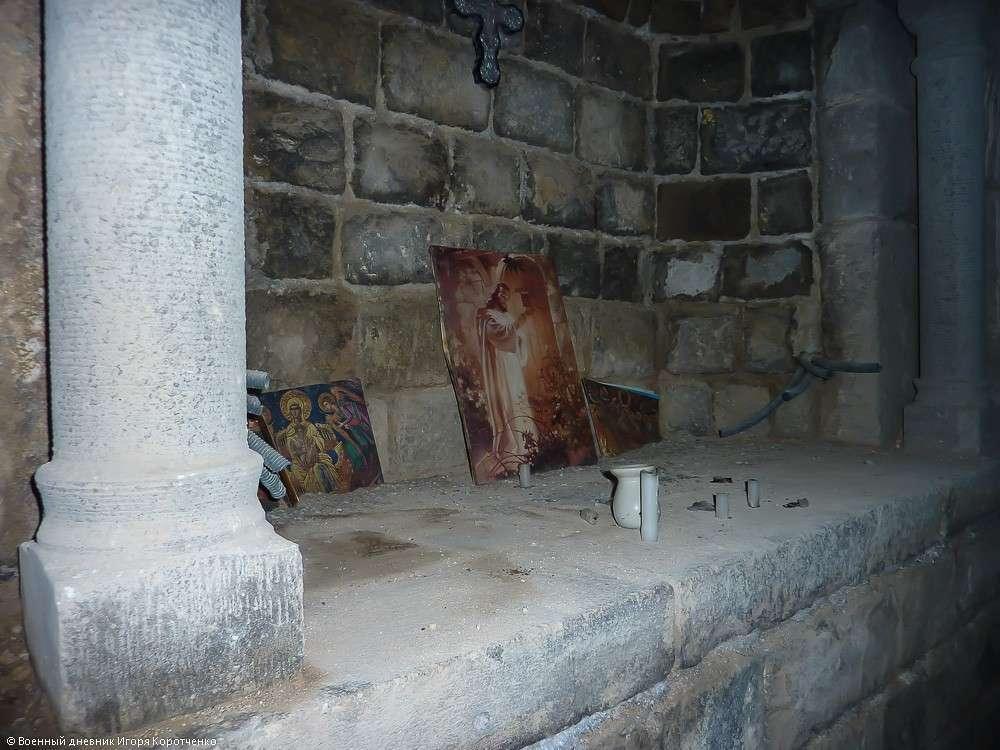 Церковь Пояса Богородицы (на арабском она называется Ум аль-Зуннар) в Хомсе 11