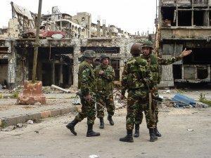 Последствия внешней политики США: город Хомс, Сирия