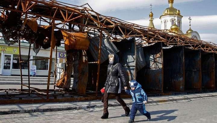 Банки в Донбассе уже работают, но Хунта не спешит снимать блокаду