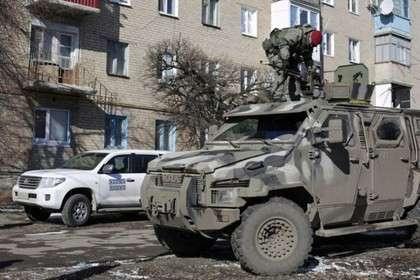 В Донецкой области подорвался второй засутки автомобиль ссиловиками