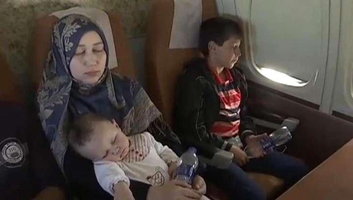 Пятый самолёт с беженцами из Йемена приземлился в Подмосковье