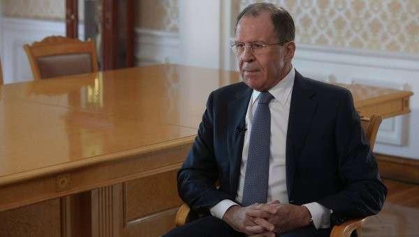 Интервью главы МИД РФ С.Лаврова гендиректору МИА Россия сегодня Дмитрию Киселеву