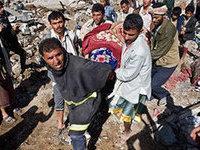 Саудовская Аравия бомбит мирное население Йемена во имя американо-израильской демократии