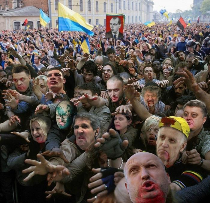 Украинское безумие жидо-революционеров