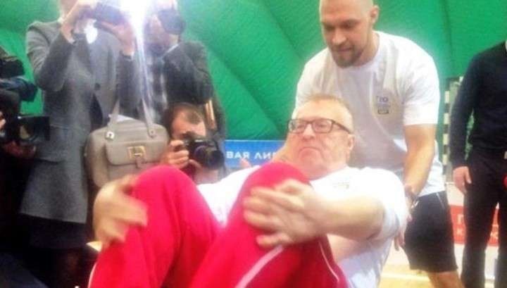 Жириновский ГТО не сдал, но ему и не надо
