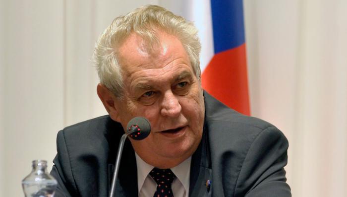 Президент Чехии выдвинул ультиматум дураку Обаме