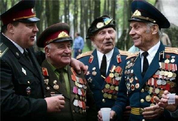 Ветераны не смогут надеть награды к 9 мая на Украине