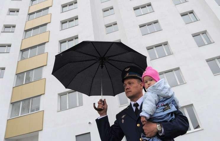 МО РФ с начала года обеспечило постоянным жильём около 4 тысяч военных