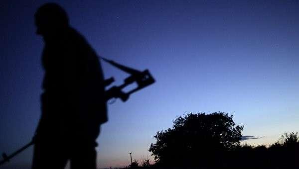Боец ополчения в Донбассе. Архивное фото