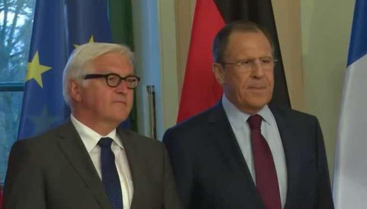 В Берлине завершились переговоры министров «нормандской четвёрки»
