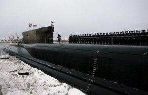 Атомная подлодка «Александр Невский» принята в состав ВМФ России