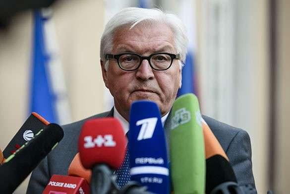 Франк Штайнмайер: Без России невозможно решить много международных проблем. Штайнмайер