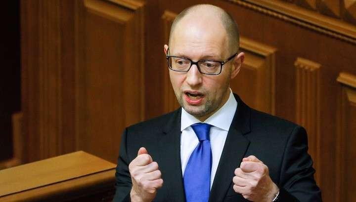 Жидо-кролик Сеня Яценюк объявил о газовой независимости Украины