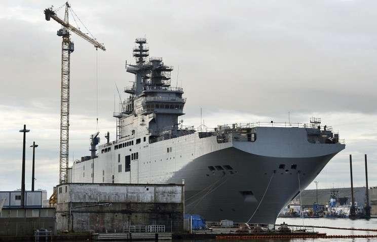 Вторые морские испытания вертолетоносца «Севастополь» прошли успешно