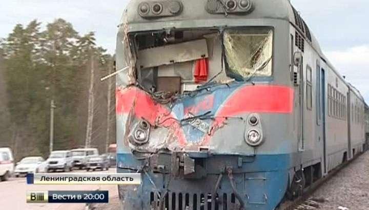 Не заметить едущий поезд было практически невозможно