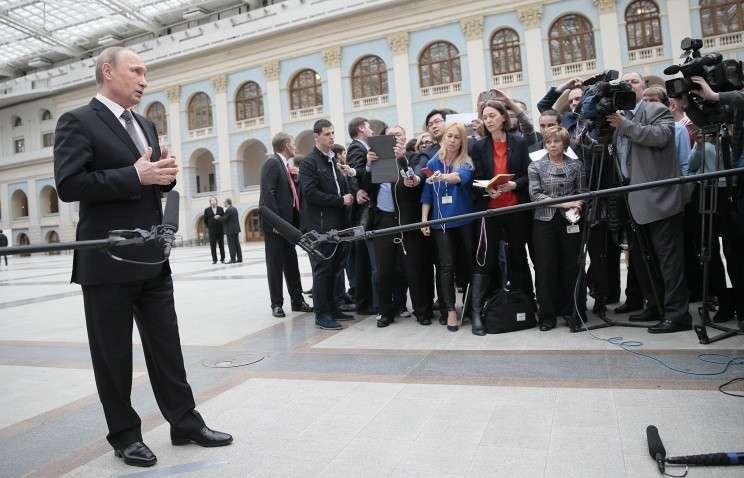 Как проходила «Прямая линия с Владимиром Путиным»