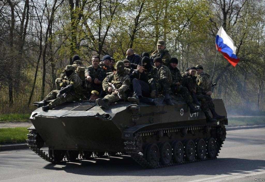 Ополчение Славянска поднято по боевой тревоге