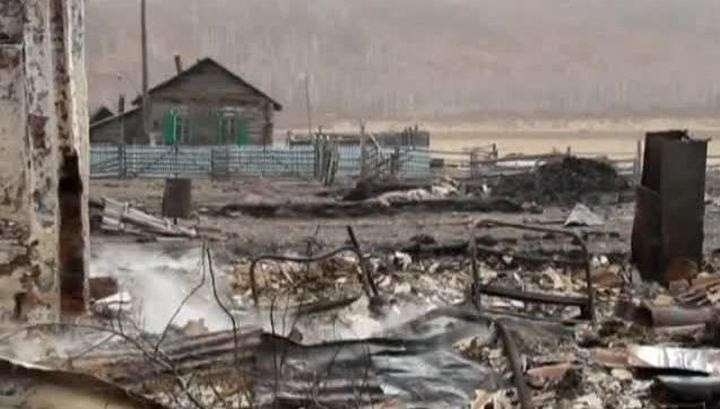 Сибирь в огне: дома сгорают за полчаса