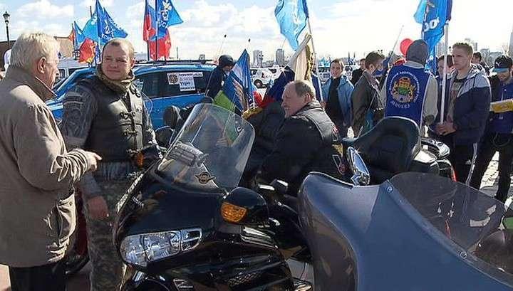 В Москве на Поклонной горе стартовал автопробег «Дорогами славы»