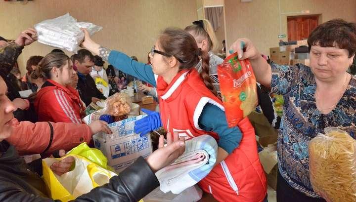 Пострадавшим в Забайкалье начали выдавать гуманитарную помощь