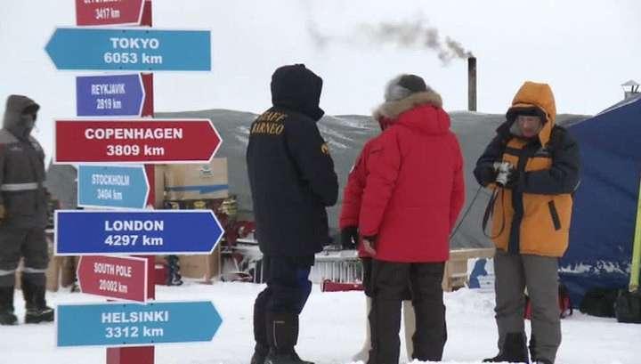Российские учёные будут изучать Арктику на дрейфующей станции