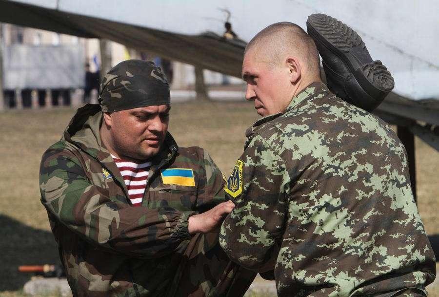 Национальная гвардия Украины – это мыльный пузырь